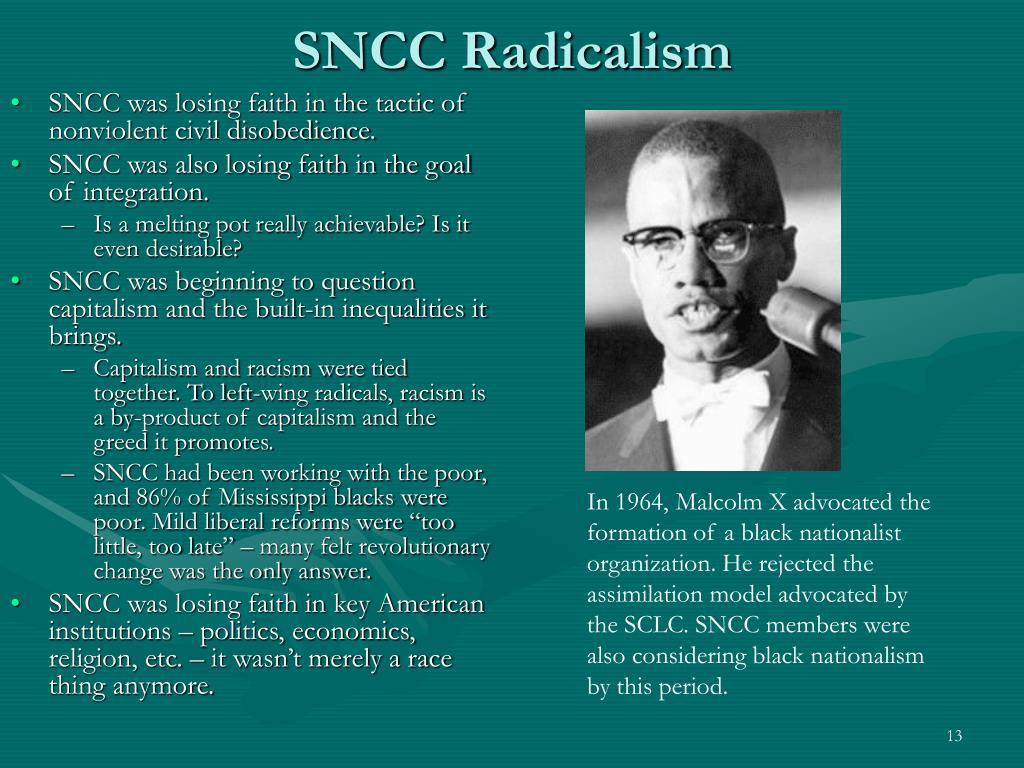SNCC Radicalism