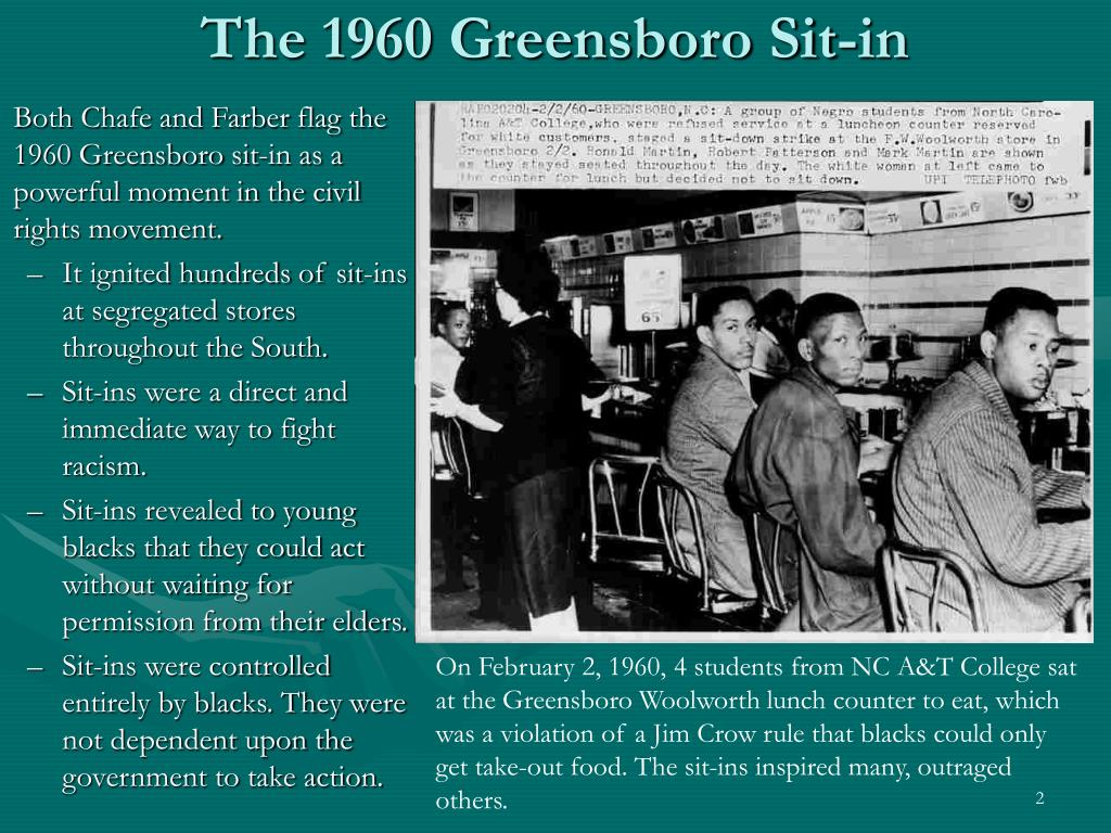 The 1960 Greensboro Sit-in