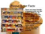 peanut butter facts