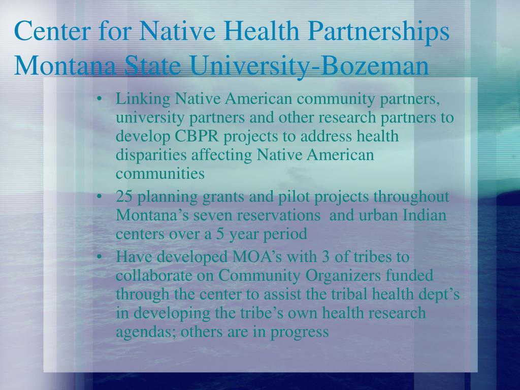 Center for Native Health Partnerships