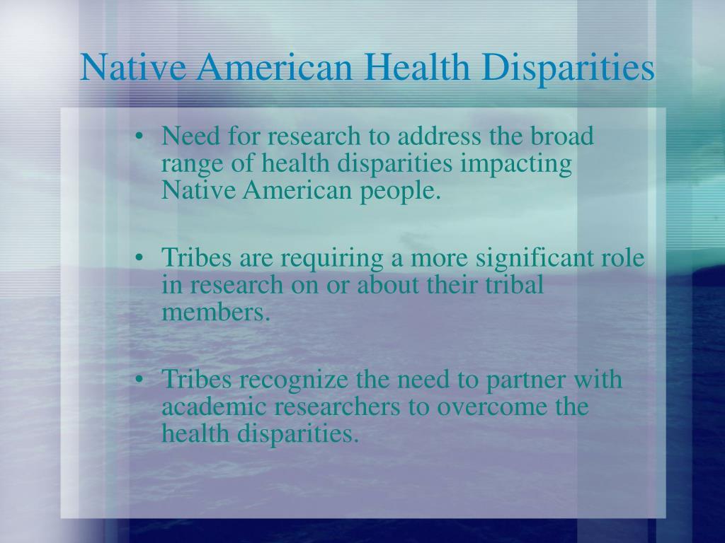 Native American Health Disparities