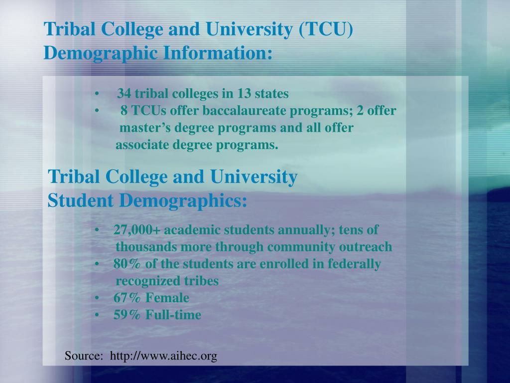 Tribal College and University (TCU)