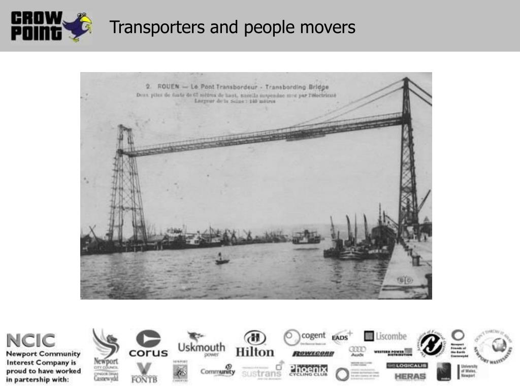 Transporters and people movers