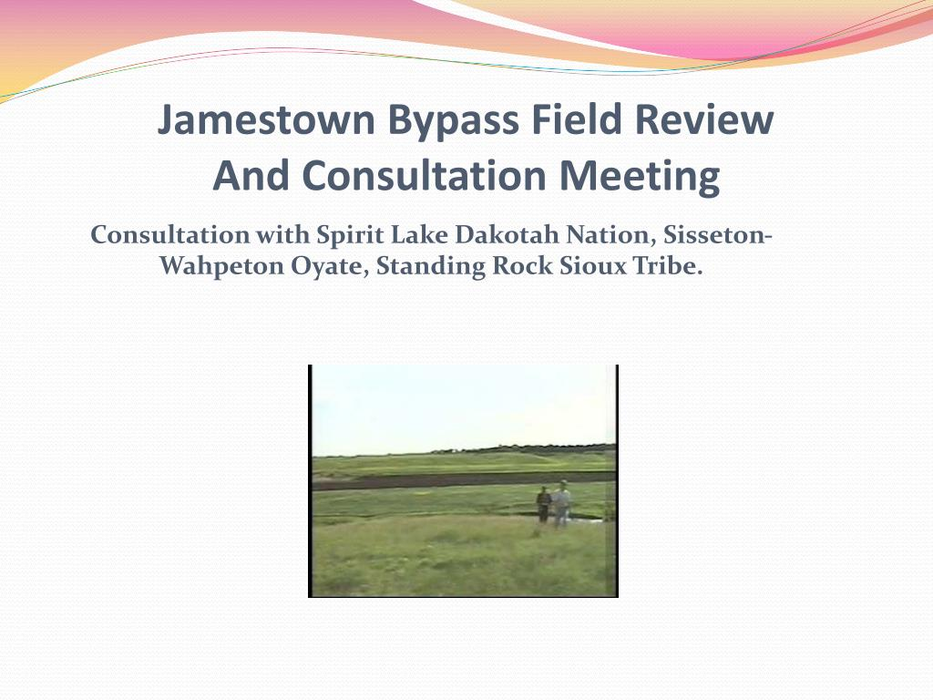 Jamestown Bypass Field Review