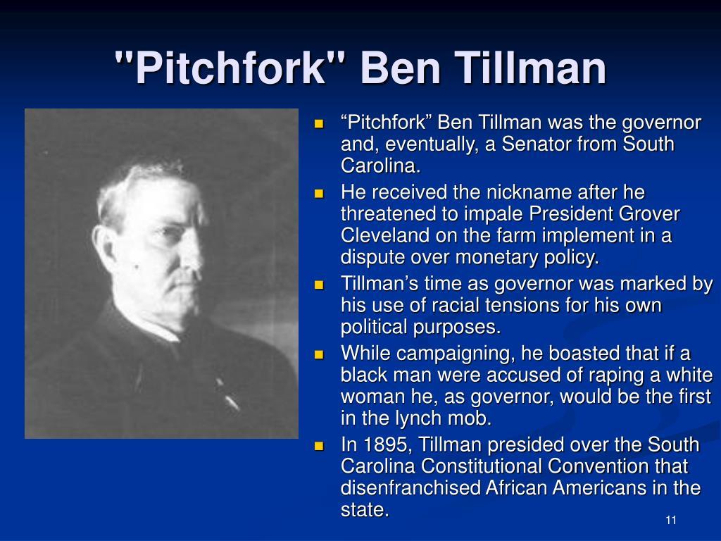 """""""Pitchfork"""" Ben Tillman"""