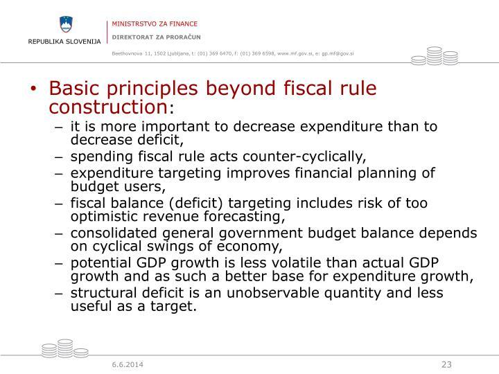 Basic principl