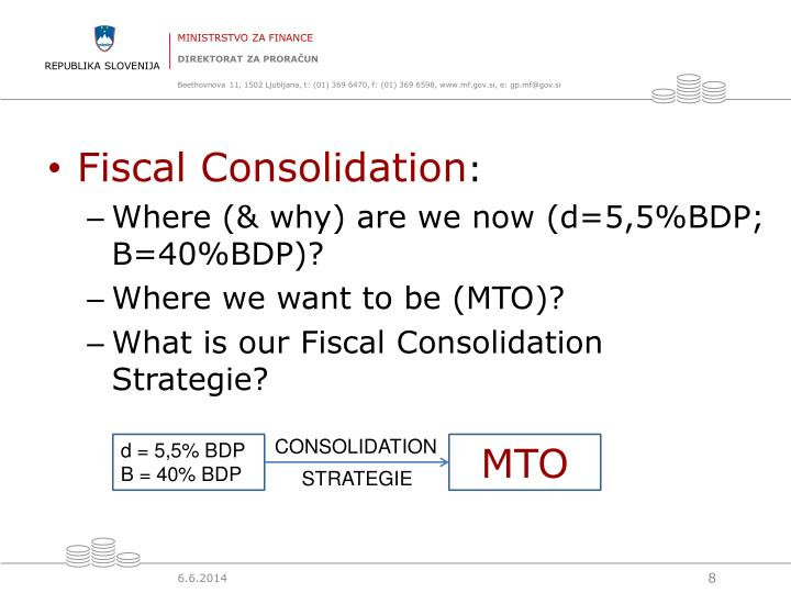 Fiscal Consolidation