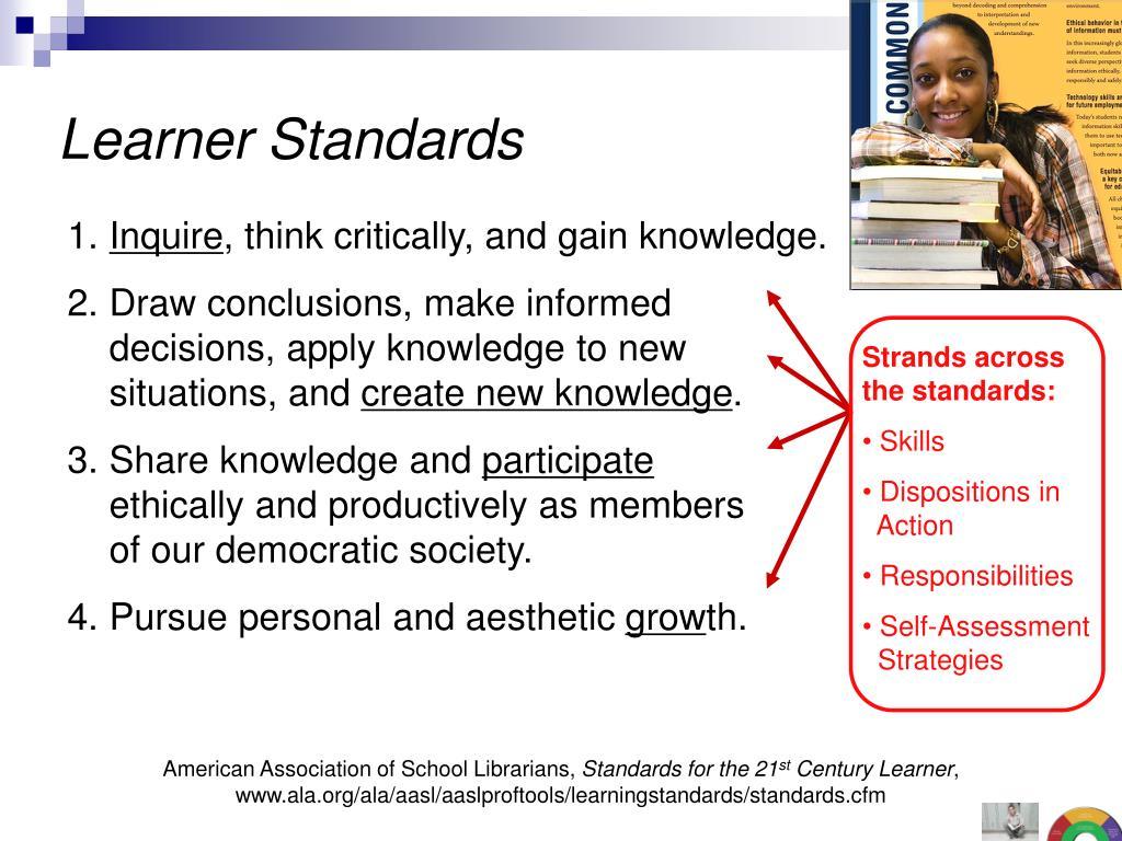 Learner Standards