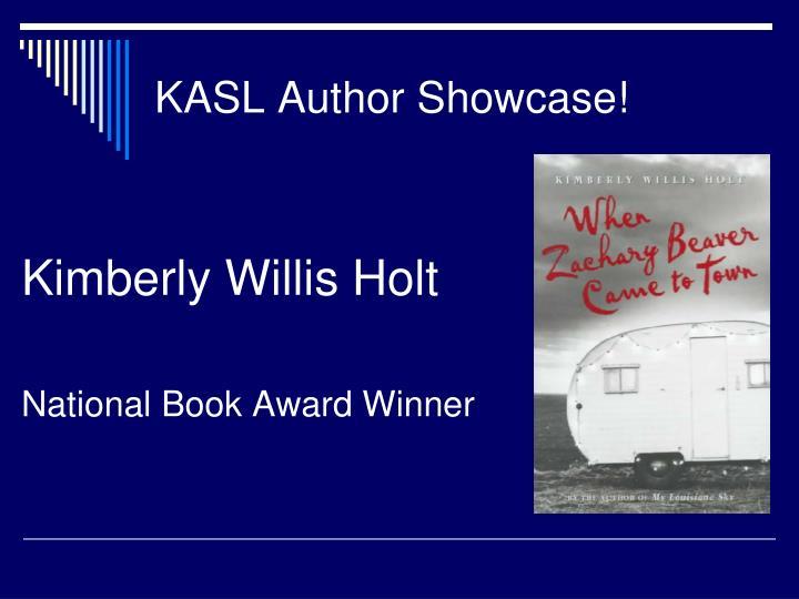 KASL Author Showcase!