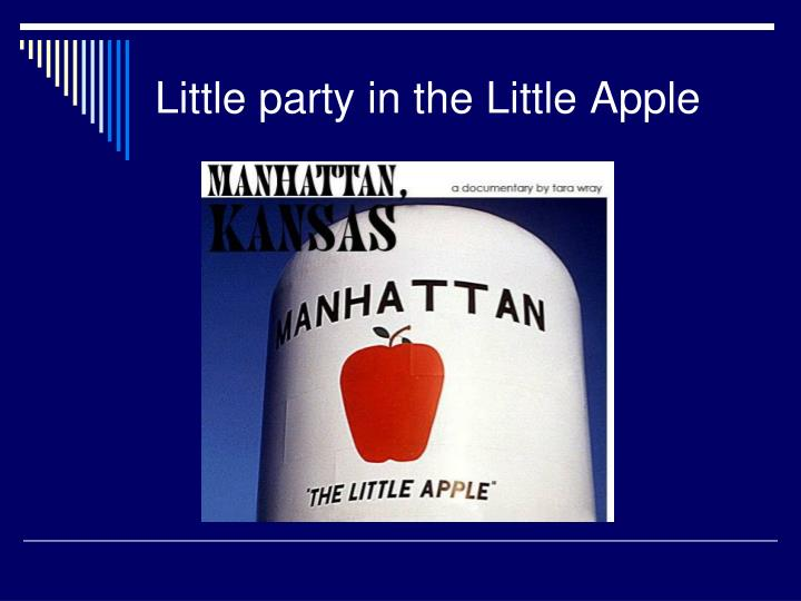 Little party in the Little Apple