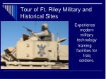 tour of ft riley military and historical sites