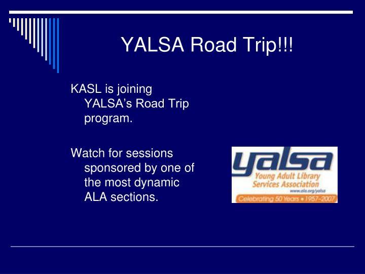 YALSA Road Trip!!!