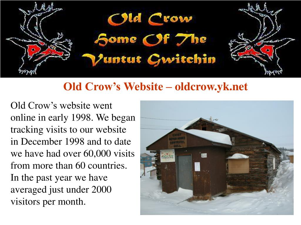 Old Crow's Website – oldcrow.yk.net