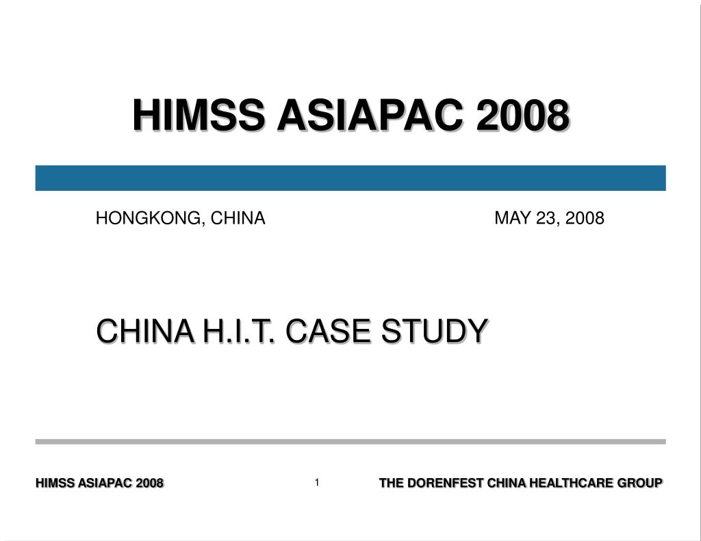 HIMSS ASIAPAC 2008