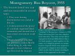 montgomery bus boycott 195514