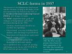 sclc forms in 1957