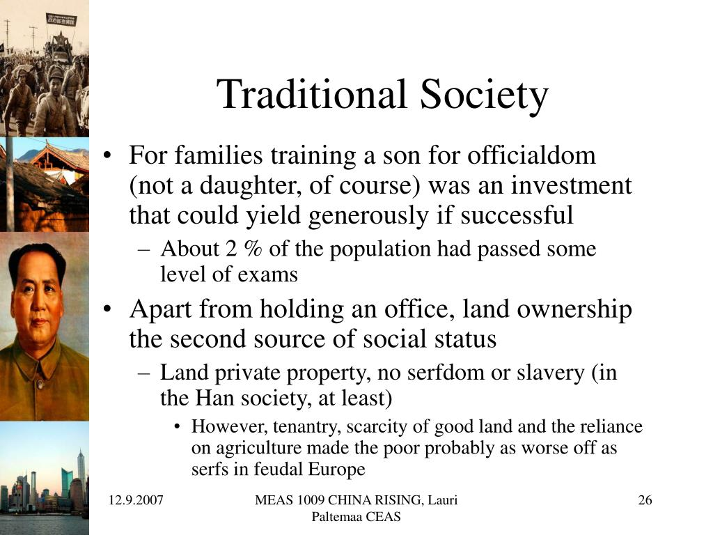 Traditional Society