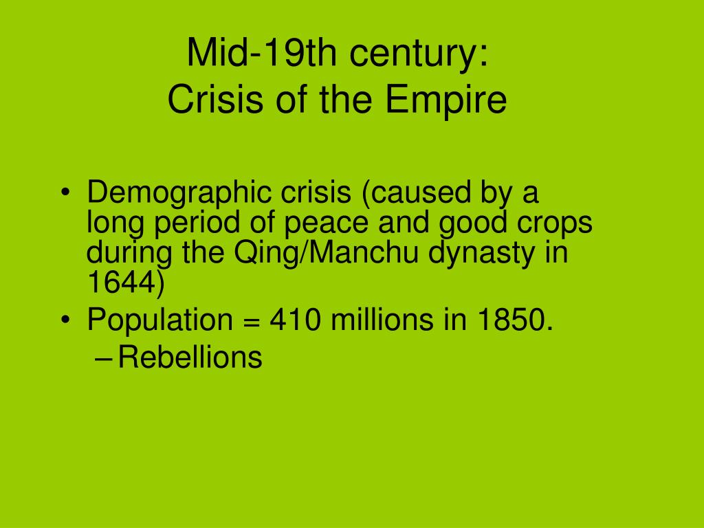 Mid-19th century:
