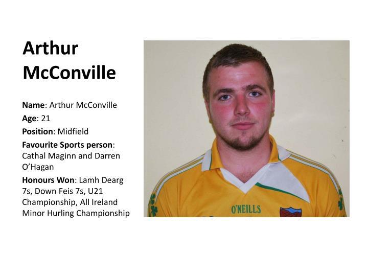Arthur McConville