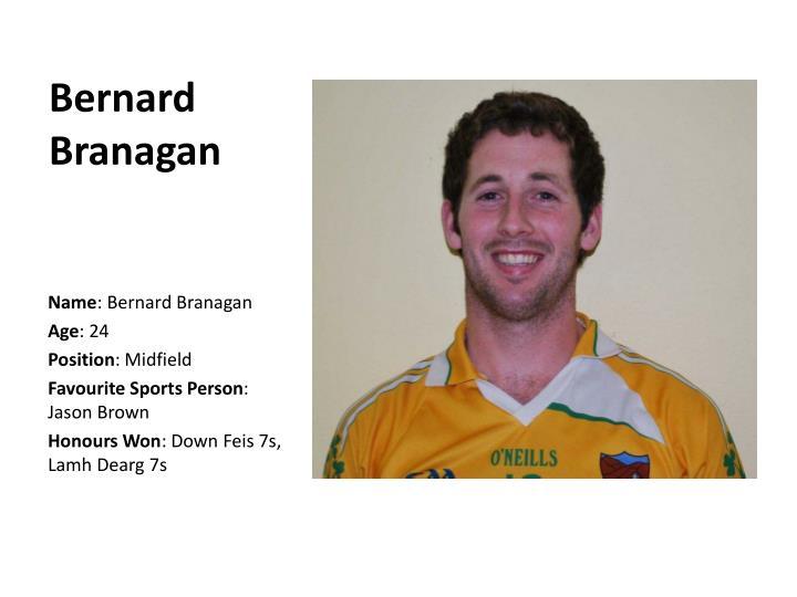 Bernard Branagan