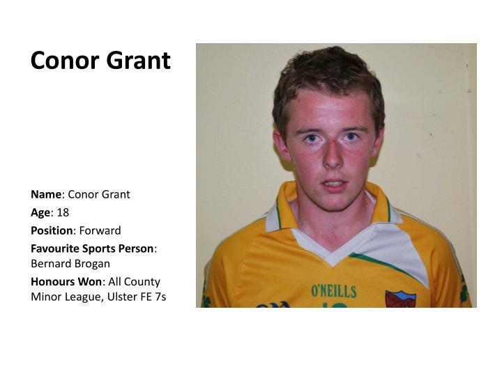 Conor Grant