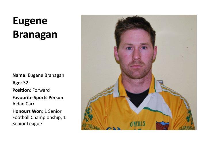Eugene Branagan