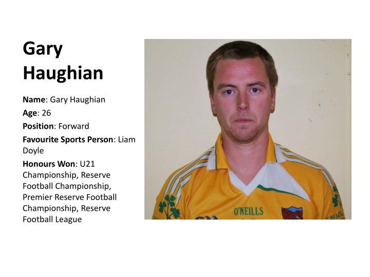 Gary Haughian