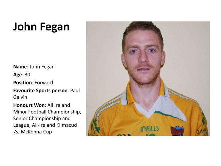 John Fegan