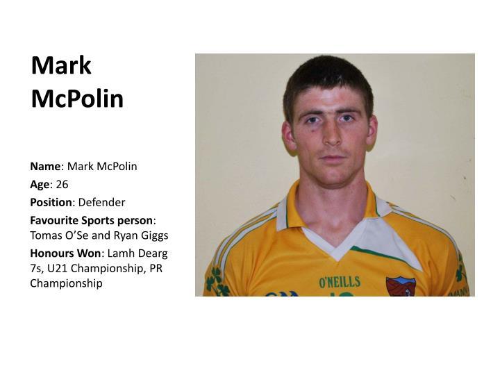 Mark McPolin