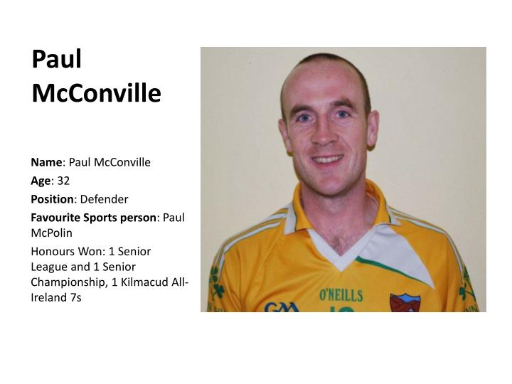 Paul McConville