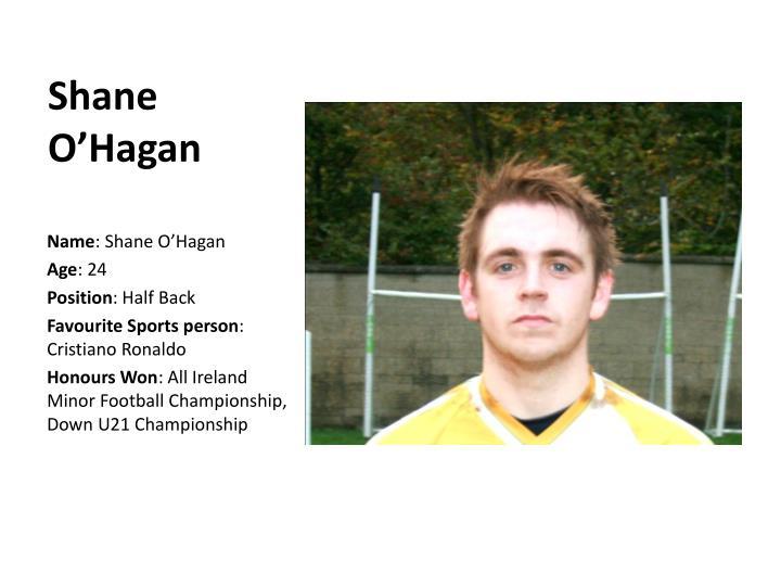 Shane O'Hagan