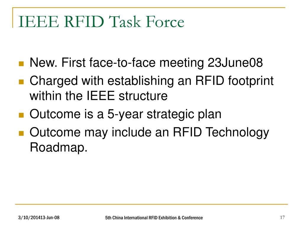 IEEE RFID Task Force