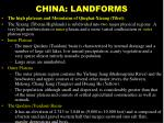 china landforms15