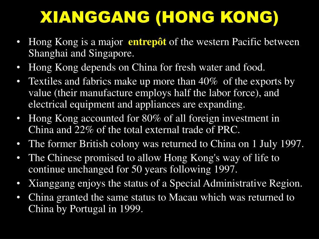 XIANGGANG (HONG KONG)