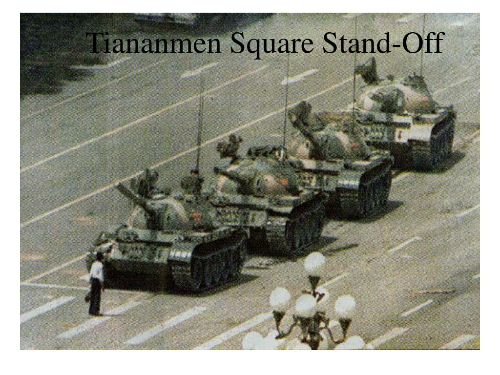 Tiananmen Square Stand-Off