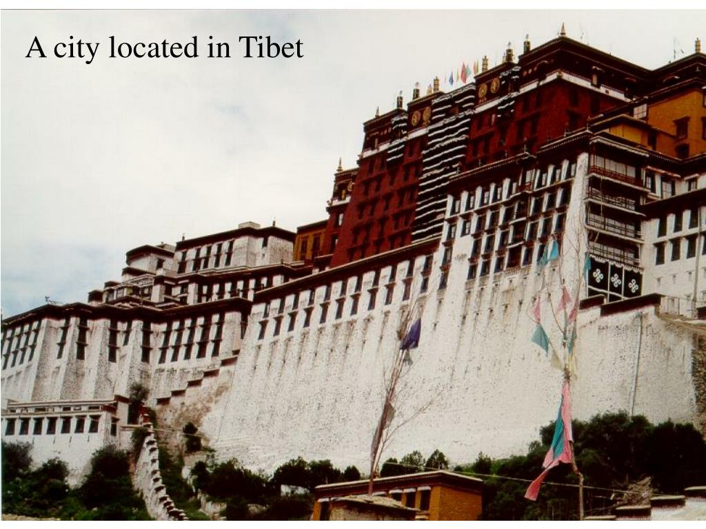 A city located in Tibet