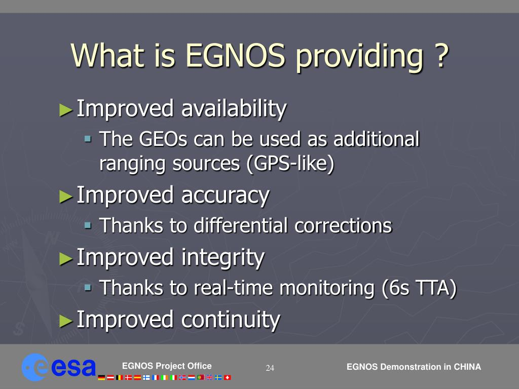 What is EGNOS providing ?