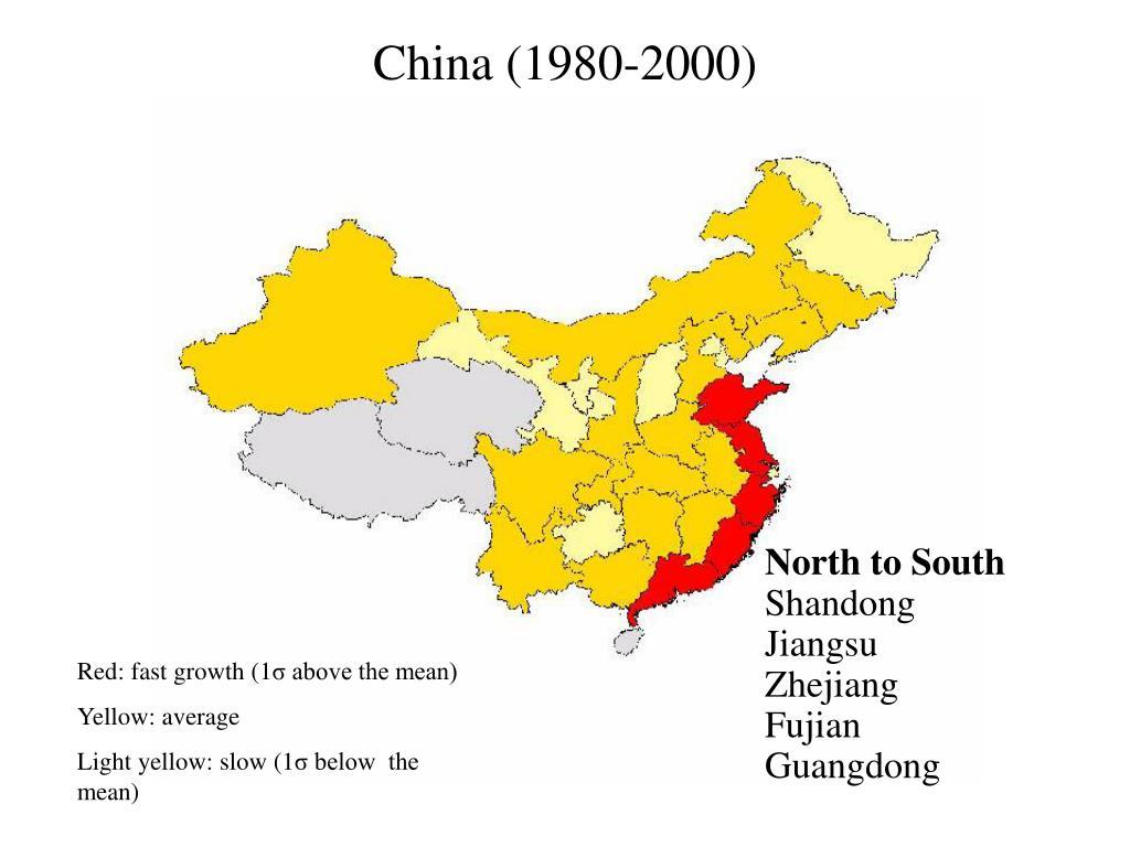 China (1980-2000)