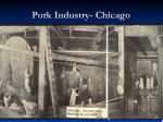 pork industry chicago