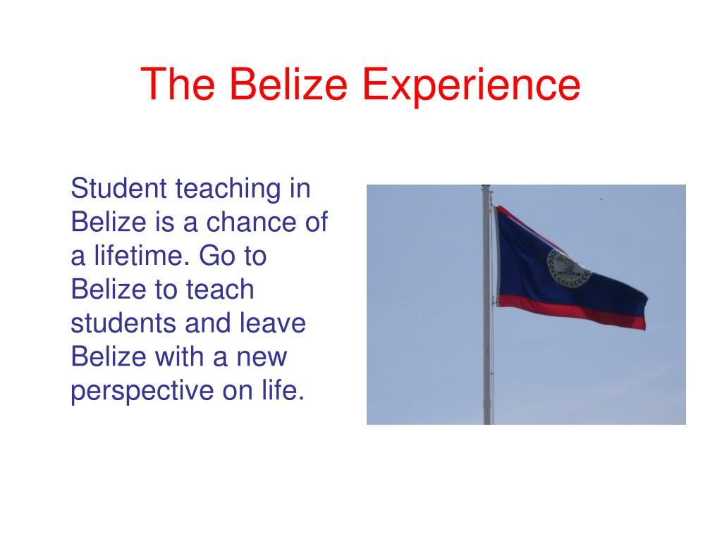 The Belize Experience
