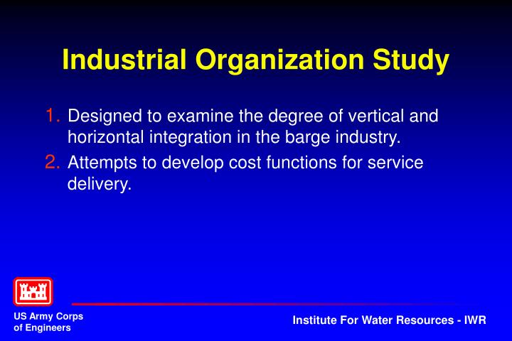 Industrial Organization Study