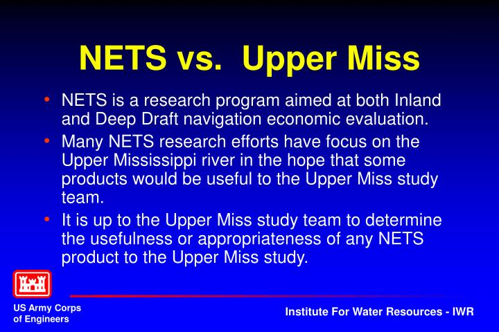 Nets vs upper miss