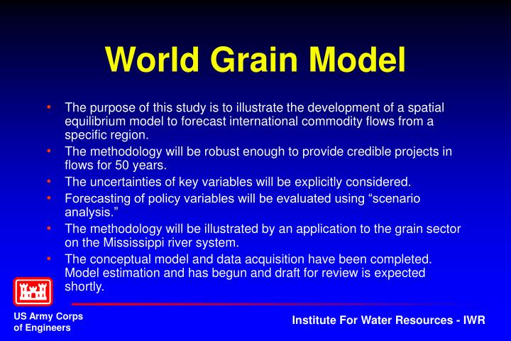 World Grain Model