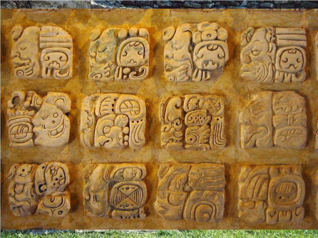 The Maya had a system of writing. They recorded important events on big slabs of stone called stela.These writings are still visible 2,000 years later and are helping us to discover more about their culture.