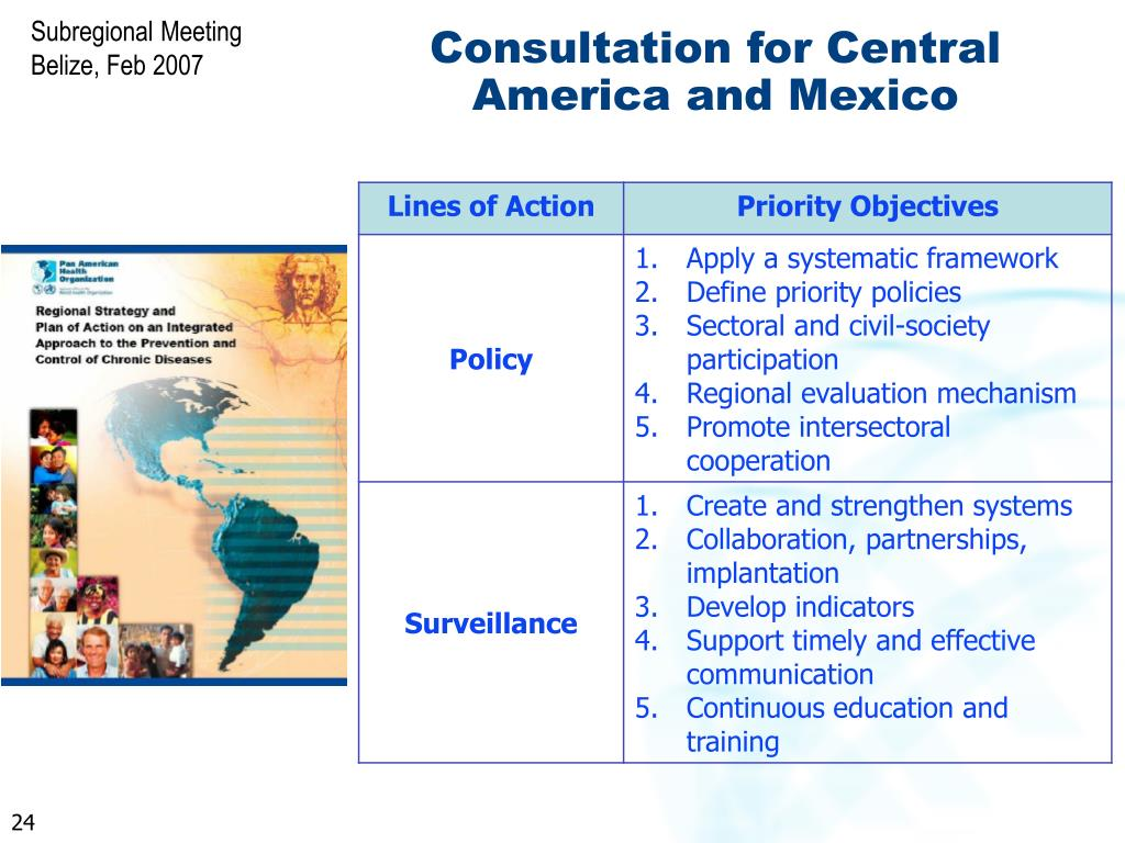 Consultation for Central America and Mexico
