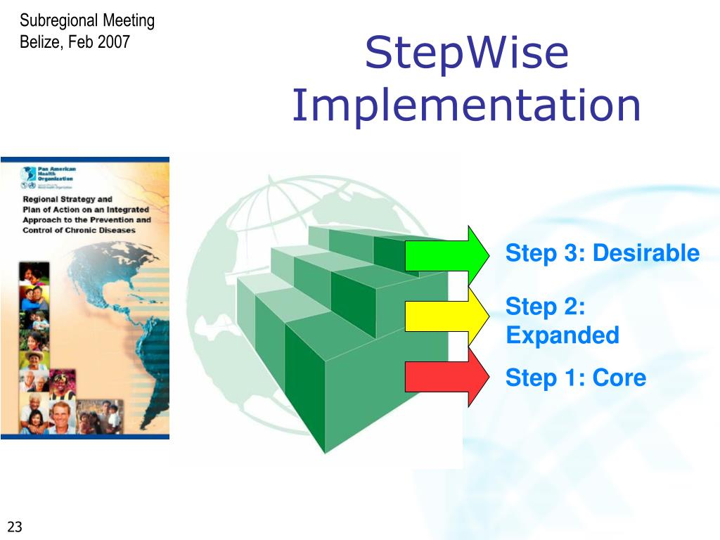 StepWise Implementation