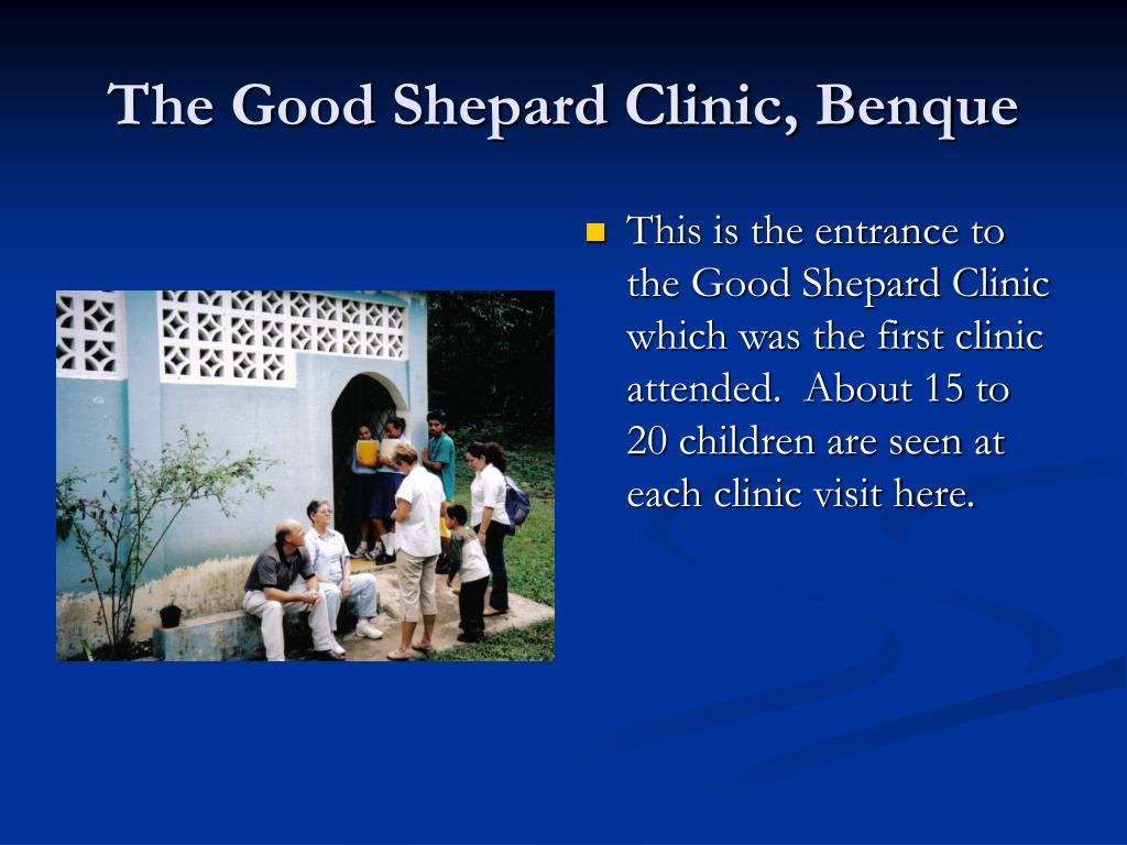The Good Shepard Clinic, Benque