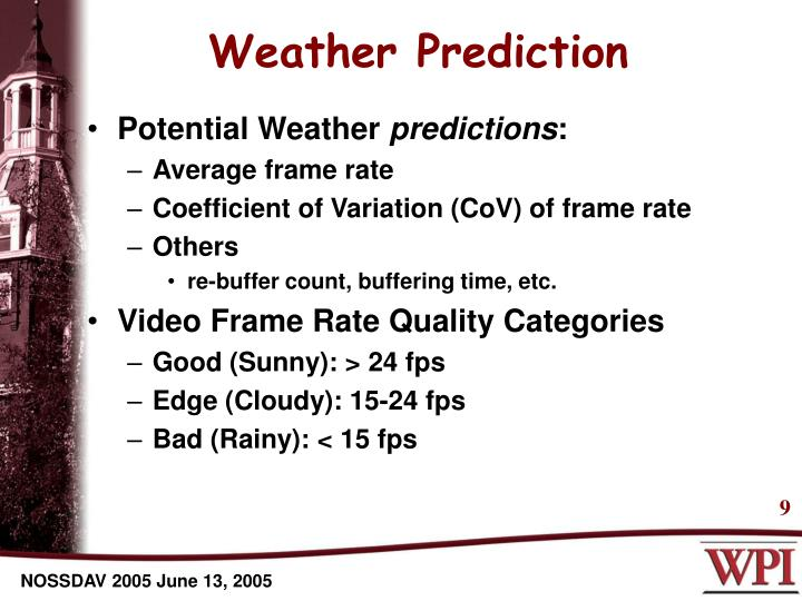 Weather Prediction