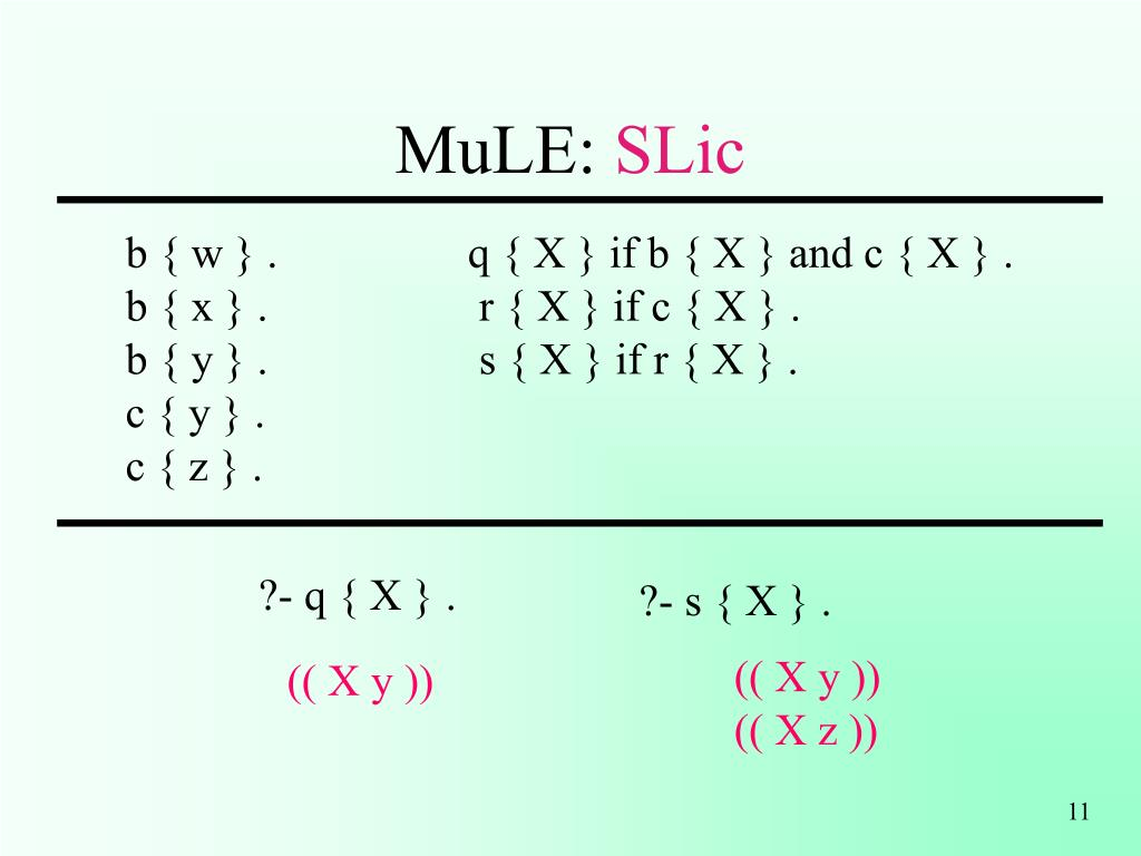 MuLE: