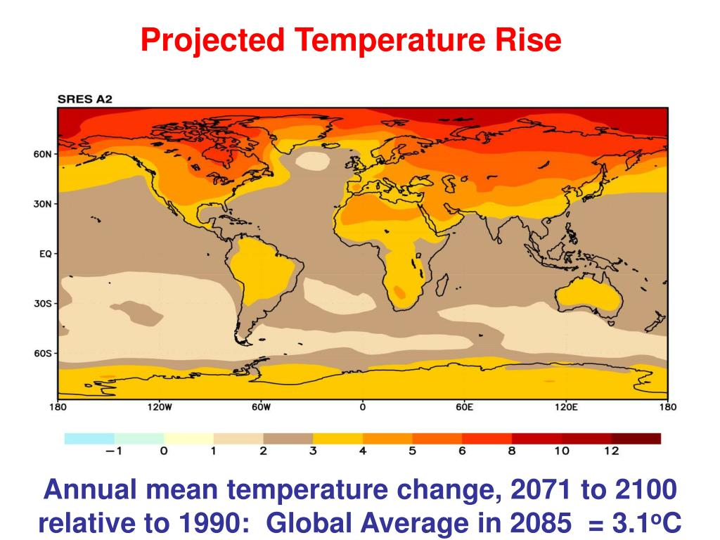 Projected Temperature Rise